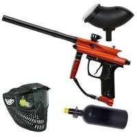 Azodin Kaos 2 HP Paintball Set - orange/black
