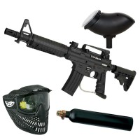 Tippmann Bravo One Elite Paintball Set