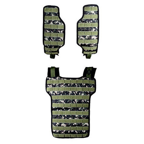 NXe Extraktion Flank Paintball Light Weste digi camo