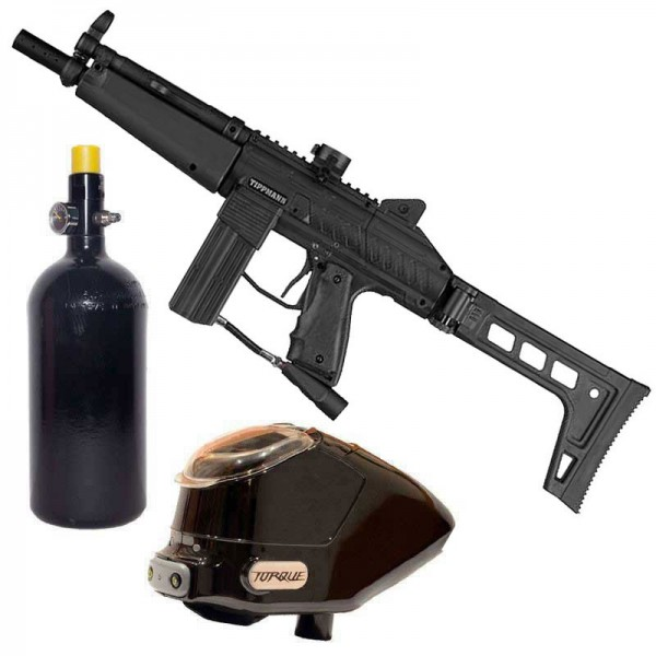 Tippmann Stryker MP1 Paintball Package - black