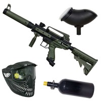 Tippmann Cronus Tactical HP Paintball Set - oliv