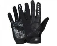Paintball Handschuhe HK Army Freeline Gloves Vollfinger Stealth schwarz
