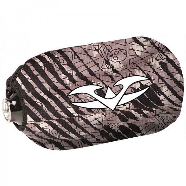Valken Redemption Bottle Cover 45ci Grey Scar