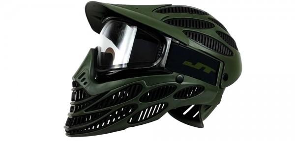 Paintball Maske JT Flex 8 Full Head oliv