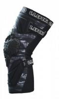 Knieschoner G.I. Sportz Protective Race schwarz, Paar