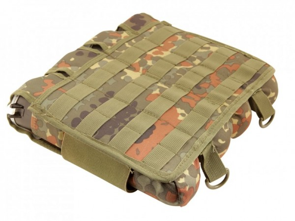 9 Pot (5+4) Potoyz Rebel Pack Molle Flecktarn unisize