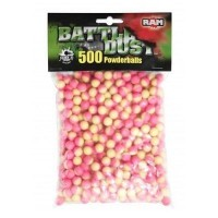 Umarex Battle Dust Powderballs cal.43 500 Stück pink-gelb