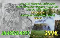 Jahreskarte 2020 für Area und Megapark + Gratis Markierer