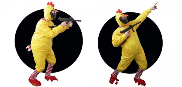 "Paintball Kostüm Huhn ""Chicken"""