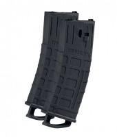 Ersatzmagazin Tippmann TMC schwarz, 20 Schuss, doppelpack