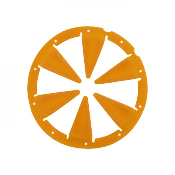 Exalt Dye Rotor R1 / LT-R Feedgate orange