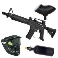 Tippmann Bravo One Elite HP Paintball Set