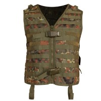 Paintball Weste Protoyz Molle Flecktarn