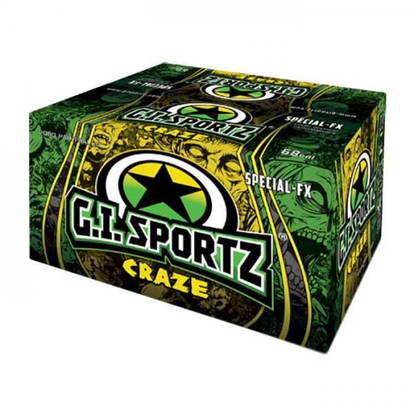 G.I. Sportz Craze Schwarzlicht Paintballs - 2000 Stück