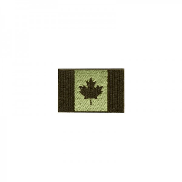 "Patch, Killhouse Kanadische Flagge 3x2"", oliv"