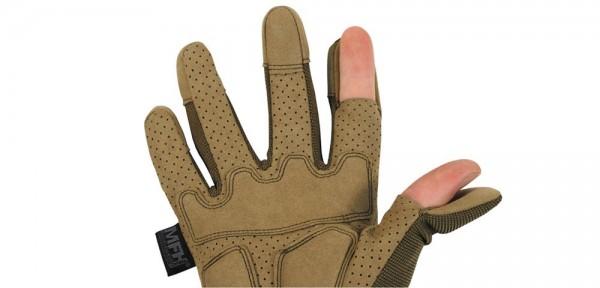 "Tactical Handschuhe ""Action"" - coyote tan"