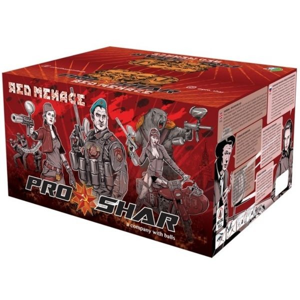 ProShar Red Menace .68 Cal 2000 Paintballs
