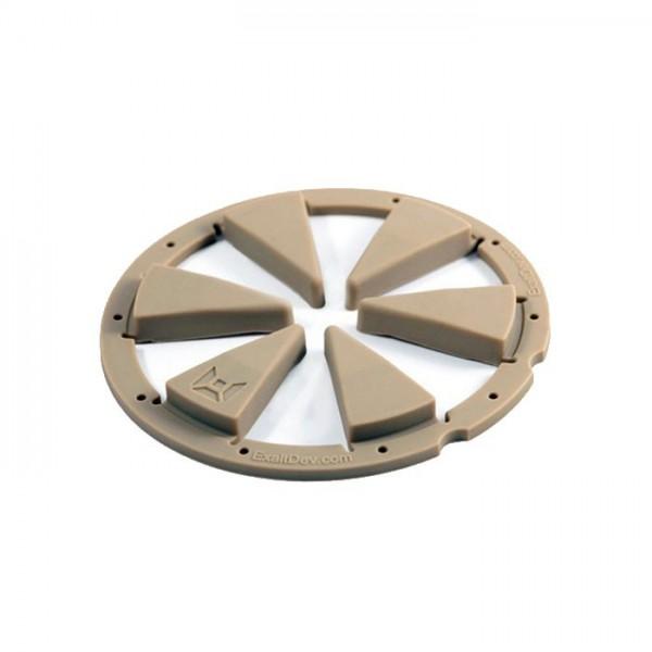Exalt Dye Rotor R1 / LT-R Feedgate tan