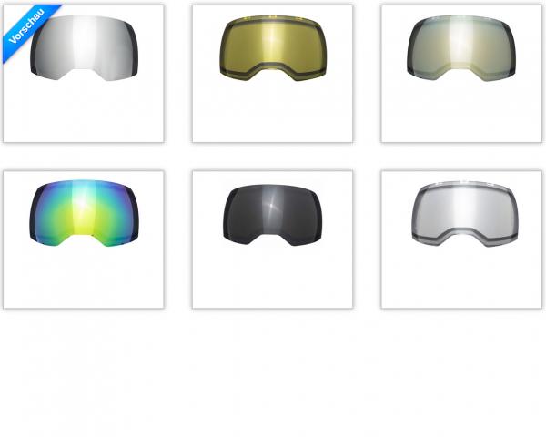 Empire EVS Maskenglas Thermalglas Ersatzglas
