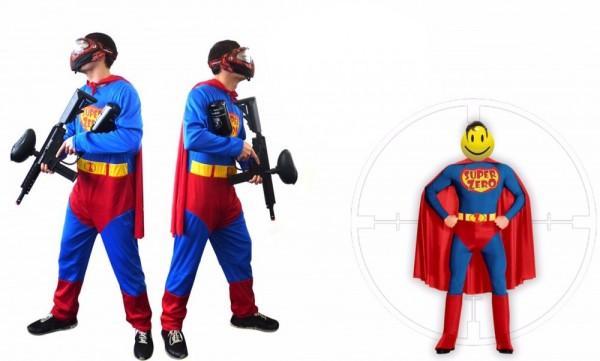 "Paintball Kostüm Superheld ""Super-Zero"""