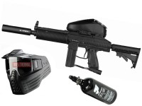 Tippmann Stryker MP2 Elite .68 Cal schwarz, Vforce Sentry thermal