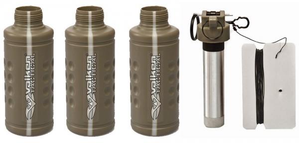 Valken Tactical Thunder V CO2 Knallgranate / Soundgranate mit Core - 3er Pack Shocker
