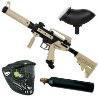 Tippmann Cronus Tactical Paintball Set inkl. Loader 200 - tan