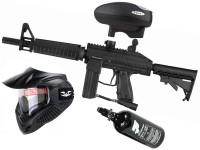 Tippmann Stryker XR1 .68 Cal schwarz,, 0,8l HP, Valken MI-3 thermal, Valken V-Max+