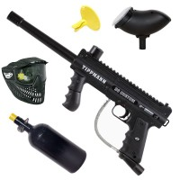 Tippmann 98 Custom Platinum ACT HP Paintball Set