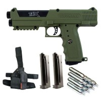Tippmann TPX Oliv Paintball Package