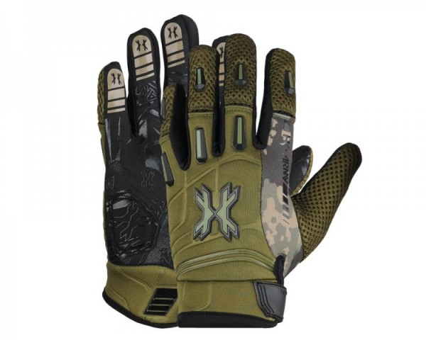Handschuhe HK Army Pro Gloves Vollfinger Camo oliv