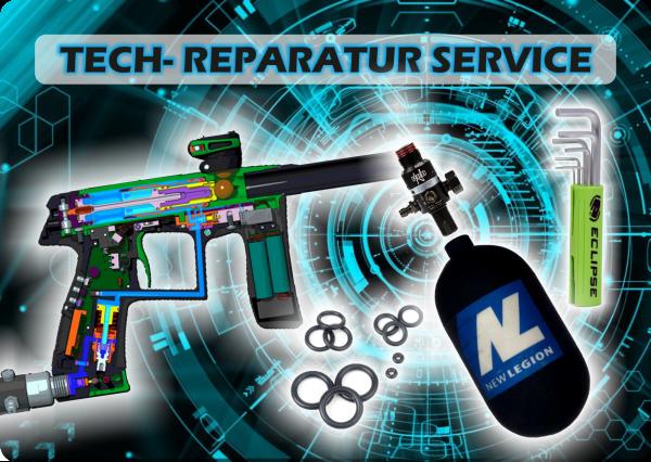 Techservice Reparatur Paintball Markierer