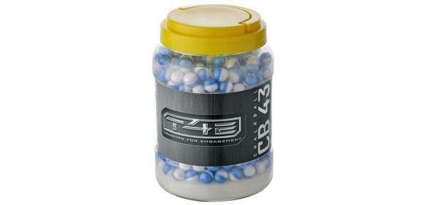 Umarex T4E cal. 43 Chalkballs / Kreidebälle 250 Stück