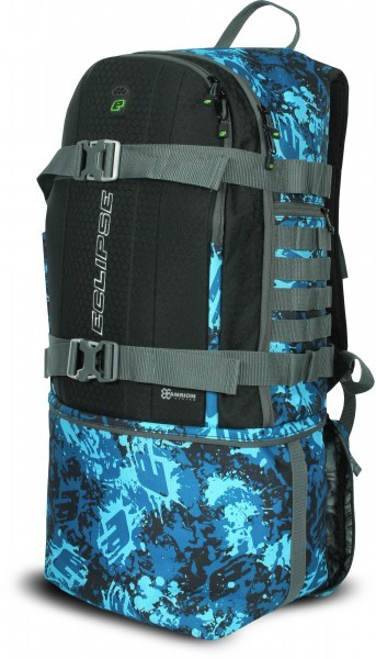 Rucksack Eclipse GX Gravel Bag Molle Fire rot