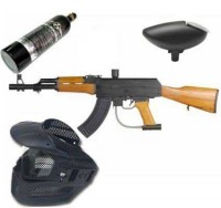 New Legion AK47 Paintball Set