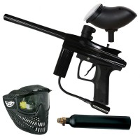 Azodin Centurion Paintball Set - black