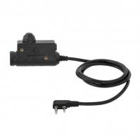 Earmor M51 PTT Einheit für Funk Aktiv Gehörschutz