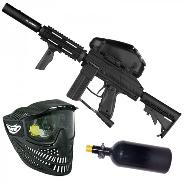 Tippmann Stryker AR1 Elite HP Paintball Set