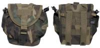 Universal Molle Tasche 21cm x 15cm x 10cm - woodland