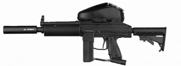 Tippmann Stryker MP2 Elite .68 Cal schwarz, Vforce Sentry thermal