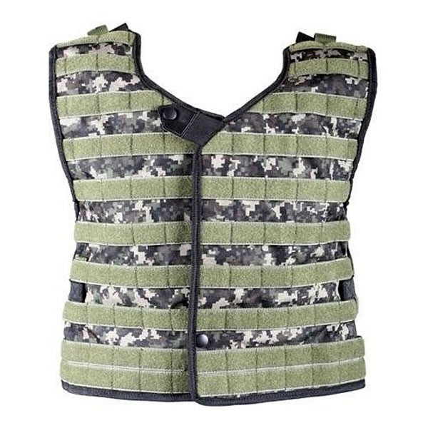 NXe Extraktion Shell Paintball Heavy Weste digi camo