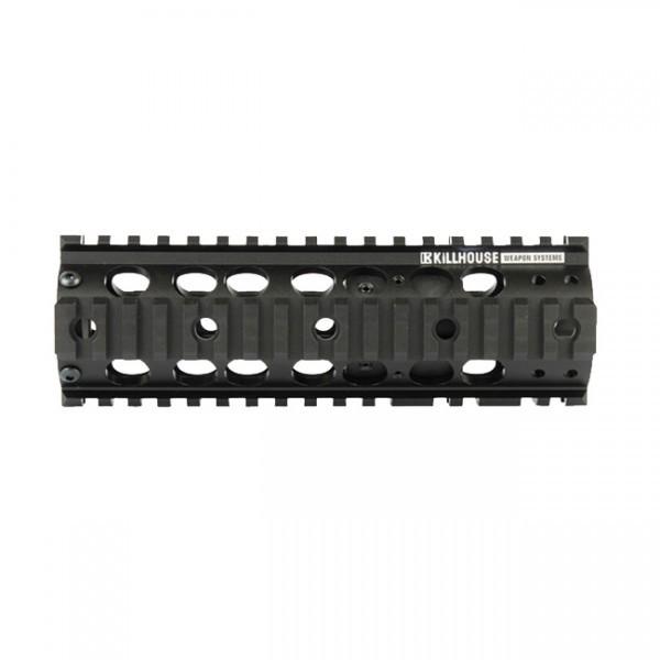 Universal RIS Handschutz, lang, mit Quad-Schiene, Killhouse aus Metall