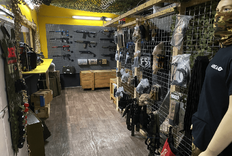 Unser Paintball Store in Leipzig
