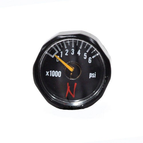 Manometer 6000psi Ninja, schwarz